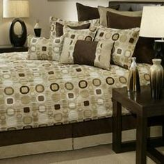 Brown Bedding, Brown Comforters, Comforter Sets, Bedding Sets & Bed In A Bag: The Home Decorating Company