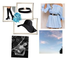 """""""Blue and black 💙💙🖤🖤"""" by fashionatitsgreatest ❤ liked on Polyvore featuring Dorothy Perkins and In Your Dreams"""
