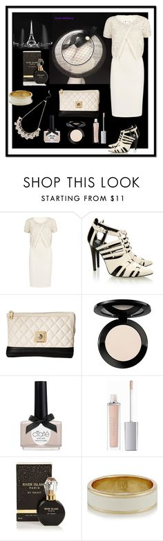 """""""Ivory & Black"""" by emms-millinery ❤ liked on Polyvore featuring Gina Bacconi, Rebecca Minkoff, Love Moschino, Vincent Longo, Ciaté, ArtDeco, River Island, Inez & Vinoodh and M&Co"""