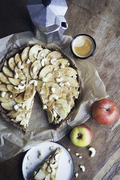 Raw Vegan, Camembert Cheese, Autumn, Simple, Blog, Pie, Apple, Fall, Blogging