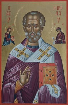 Saint Nicholas, Orthodox Icons, Religious Art, Troops, Christianity, Nostalgia, Saints, Santos, Lds Art