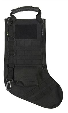 If you are or have a die-hard tactical person in your family who complains about having a traditional stocking hanging on the mantel each Christmas, then we have the perfect solution to make your holidays extra festive this year. Finally, a Christmas stocking made for the tactical enthusiast, one that can be fully customized just like the rest of his or her tactical gear. #MiltaryChristmas #Army #Marines #Navy #Airforce #USAF #CoastGuard Black Bags, Die Hard, Coast Guard, Tactical Gear, Marines, Christmas Stockings, Air Force, Festive, Rest