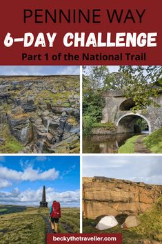 Pennine Way Hike (6 Days) From Edale to Horton-in-Ribblesdale. A UK long-distance challenge from Edale in Derbyshire to Horton-in-Ribblesdale in Yorkshire Dales. A 6-day section of the Pennine Way National Trail, complete with full route, tips and gear for the hike. #pennineway