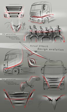 Iveco Stralis _ ALIEN by Alberto Caruso, via Behance