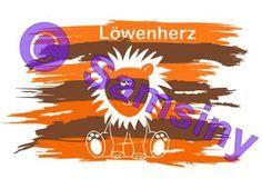 Samsiny Plotterfreebie Löwenherz   Plotter freebie häkeln Löwe süß vinyl  flexibel kostenlos  download
