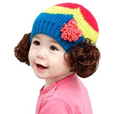 Wouldn't your little baby like to wear this candy color #hat? It is full of artistic. make your baby feel warm and comfy. >>http://bit.ly/1m976Ca
