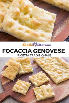 La FOCACCIA GENOVESE è una ricetta della tradizione ligure. L'impasto è morbido, croccante e lucido d'olio. Segui la nostra fotoricetta passo passo e preparala anche tu. #giallozafferano #focaccia #baking #ricettetradizionali #focacciabread #italianrecipes #videoricette [How to make Italian Focaccia Bread (Focaccia Genovese)] Crepes, Biscotti, Slow Food, Picnic, Bakery, Recipies, Food Porn, Food And Drink, Cooking