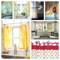 Kitchen Curtain Ideas | Cozy, Elegant, Spacious, and Warm | food ...