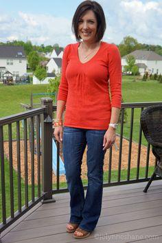Fashion Over 40 Suburban Mom Style