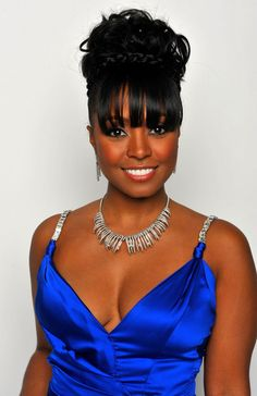 Keshia Knight Pulliam in 40th NAACP Image Awards - Hair