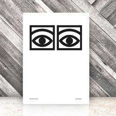 Ögon Cacao Poster 50x70cm 450 kr. - RoyalDesign.se
