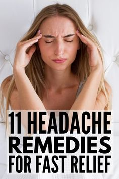 11 Headache Relief Tips We Swear By | Whether you suffer from tension headaches caused by stress, cluster headaches caused by seasonal changes, or chronic migraines caused by hormone changes, one thing is for sure: you need instant relief! From essential oils and pressure points, to herbal teas and dietary changes, to the best exercises to try (hello yoga!), click for a list of 11 natural headache remedies that really work!