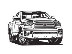 2012 Toyota Tundra illustration