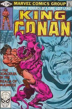King Conan #5 - VF