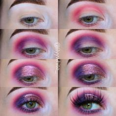 """2,026 Likes, 62 Comments - Lily 😝 (@lilyywhite_) on Instagram: """"Obsessed with the @bronx_colors galaxy eye cream eyeshadows! I used mce14 on the lid, you can use…"""""""