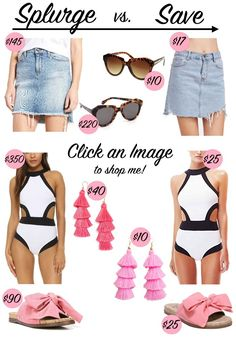 Spring Must Haves: Splurge vs. Save | It's All Chic to Me | Houston Fashion Blogger | Style Blog