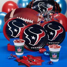Sports Party Supplies. Houston Texans PartyHouston Texans FootballFootball  FansFootball StuffTexans Baby ... 9ef80cbfc