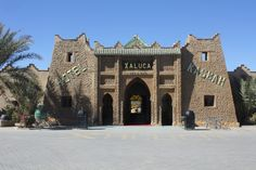Hotel Kasbah or Hotel Xaluca in Morocco