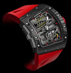 Richard Mille RM 70-01 Tourbillon Alain Prost 'Cycling' Watch
