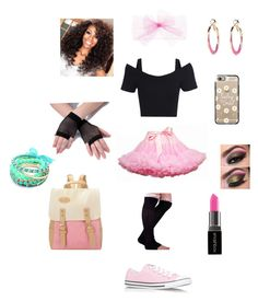 """""""80's pink"""" by soccer690 on Polyvore featuring Casetify, Converse, Ruby Rocks, Vera Bradley and Smashbox"""