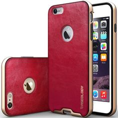 Caseology Bumper Frame Skal till Apple iPhone 6(S) Plus- Röd 01986c762d75d