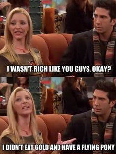 I would love to be rich