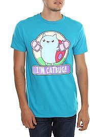 HOTTOPIC.COM - Cartoon Hangover Bravest Warriors I'm Catbug! T-Shirt  $17