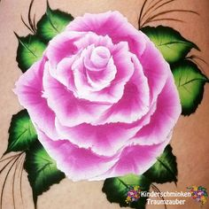 One-Stroke-Rose/One stroke rose. One Stroke, Facebook Sign Up, Face And Body, Body Art, Lighthouse, Flowers, Painting, Ideas, Pink Roses