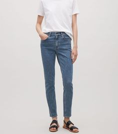 I've put a hold on buying designer denim and have been wearing affordable jeans instead. Find out why.