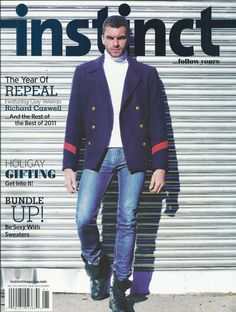 Instinct magazine Richard Caswell Holiday gift guide Sweaters South America