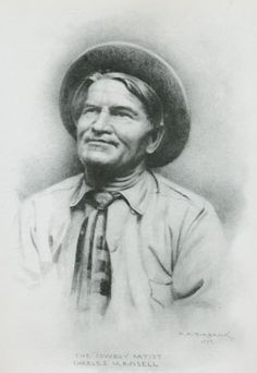 C.M. Russell, famous western artist