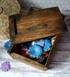 Drewniane pudełko - wood box