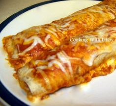 Cooking With Libby: Quick and Easy Chicken Enchiladas
