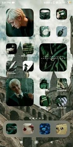 Harry Potter App, Harry Potter Pictures, Slytherin Aesthetic, Harry Potter Aesthetic, Harry Pitter, Harry Potter Background, Harry Potter Wallpaper, Homescreen, Movie Posters