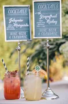 Mason Jar Cocktails  Photography: Vue Photography Read More:…