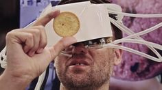 This Odd-Looking VR Headset Can Change the Taste of Your Food