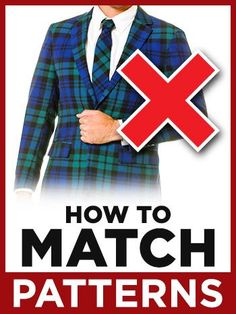 How To Match Different Patterns?   Pattern Mixing For Men #menswear
