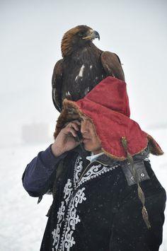 The Eagle Festival . Mongolia
