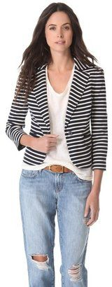 Tory burch Kamilla Striped Jacket Tory Burch