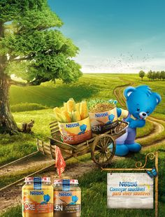 Nestlé . Papinhas on Behance
