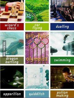 #harry potter and the Olympics