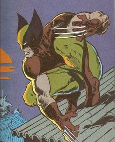 Wolverine - John Buscema | X-Men, Marvel Comics, Super Heroes, #Xmen