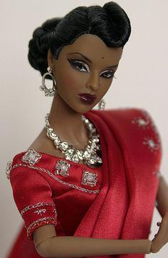 Beautiful Barbie Dolls, Pretty Dolls, Fashion Royalty Dolls, Fashion Dolls, Diva Dolls, Dolls Dolls, Baby Dolls, African American Dolls, Black Barbie