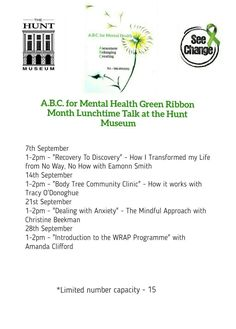 Wrap Program, Deal With Anxiety, Green Ribbon, Clinic, Mental Health, It Works, Mindfulness, Nailed It, Consciousness