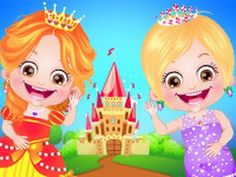 Baby Hazel Princess Dressup Wow!!! Have you imagine Baby Hazel in prince...