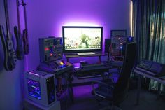 """Image 33 of 35 in forum thread """"Best of OCN Nominations Computer Rooms, Computer Setup, Gaming Setup, Space Battles, Home Office Desks, Workspaces, Computers, Sweet Home, Architecture"""