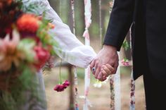 Pinned by Pigment & Parchment | Photo by Katie White Photography | Styled by Tin Roof Farmhouse | Boho Bohemian Forest Wedding Pigment & Parchment Northern California Nevada City Groom Ring