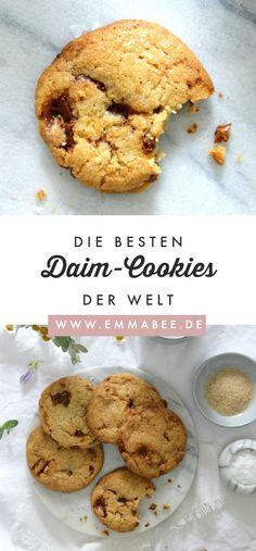 Schwedische Daim-Cookies mit Meersalz