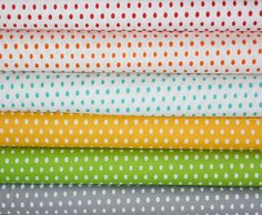 Crib SHEET in Modern Dot by Half Moon (CUSTOM: choose your fabric)