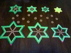 3D Christmas tree perler bead pattern - https://www.pinterest.com/pin/374291419011809268/